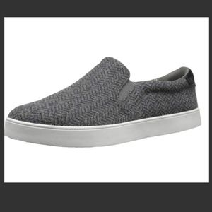 Herringbone slip-on sneakers